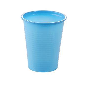 60898 50 pz bicchieri diam. 70 mm 200 ml 2,6 g PP azzurro