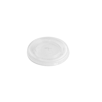 50 pcs lid for cups 85x85x8 mm 2,346 g PET transparent