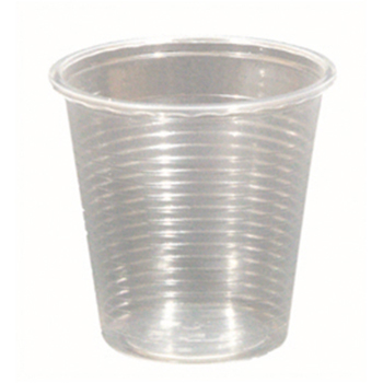 61002 50 pzs vasos diam. 57 mm 85 ml 1,6 g PP transparente
