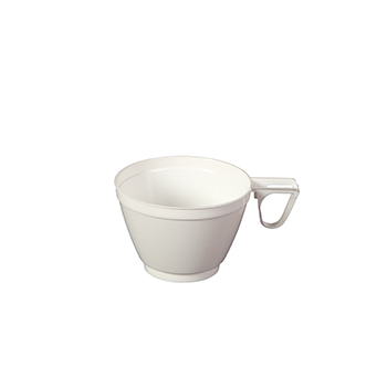 60118 25 pcs coffee cups diam. 83 mm 165 ml 10 g PP white
