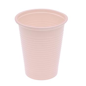 61034 50 pz bicchieri diam. 70 mm 200 ml 2,6 g PP rosa