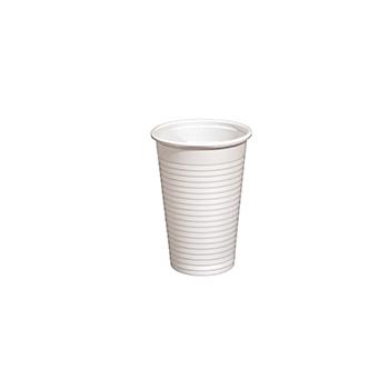 61320 100 pz bicchieri diam. 70 mm 230 ml 2,4 g PP bianco