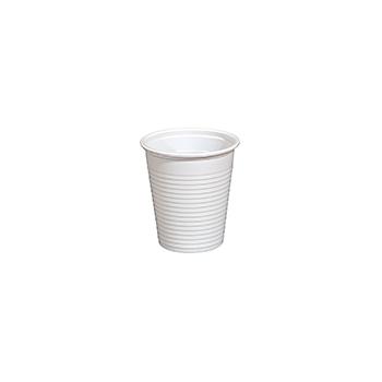 61323 100 pz bicchieri diam. 70 mm 170 ml 2,1 g PP bianco