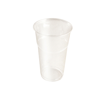 61360 50 pzs vasos diam. 85 mm 500 ml 8,8 g PLA transparente