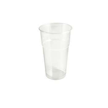 61362 50 pzs vasos diam. 95 mm 650 ml 11 g PLA transparente