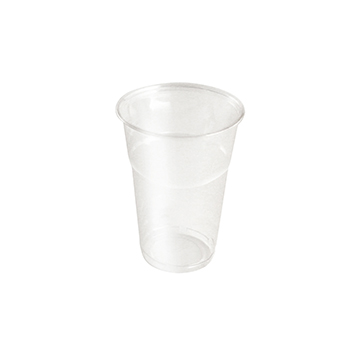 61472 50 pzs vasos diam. 95 mm 575 ml 11 g PLA transparente
