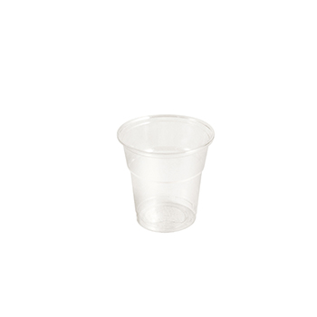 61381 1 pzs vasos diam. 78 mm 200 ml 4,7 g PLA transparente