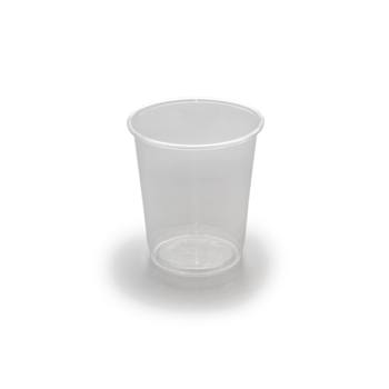 61478 50 pcs cups diam. 77 mm 250 ml 4,5 g PP transparent