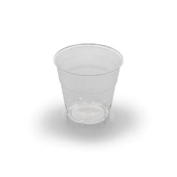 61481 50 pcs cups diam. 72 mm 170 ml 4,5 g PS transparent