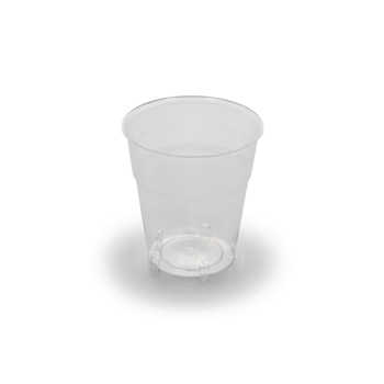 61482 50 pcs cups diam. 72 mm 200 ml 5,2 g PS transparent