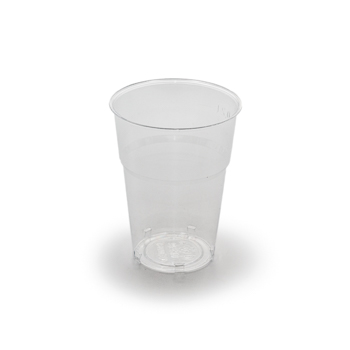 61483 50 pcs cups diam. 72 mm 250 ml 5,5 g PS transparent