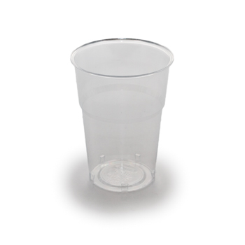 61487 50 pcs cups diam. 85 mm 400 ml 8,5 g PS transparent