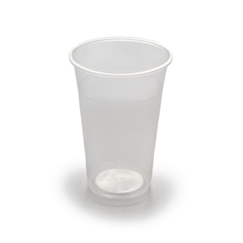 61490 50 pcs cups diam. 85 mm 400 ml 5,6 g PP transparent