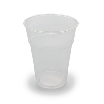 61491 50 pcs cups diam. 95 mm 575 ml 7,5 g PP transparent