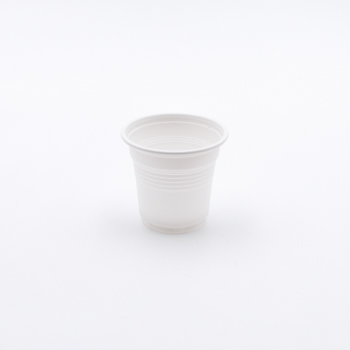 61540 40 pzs vasos diam. 57 mm 85 ml 2,5 g MATER-BI blanco