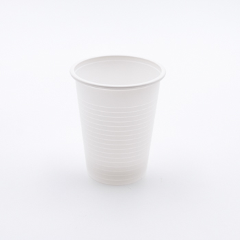 61550 50 pzs vasos diam. 70 mm 200 ml 3,5 g MATER-BI blanco