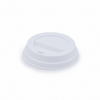 61581 100 pcs lid for cups diam. 83 mm 2,12 g PS white