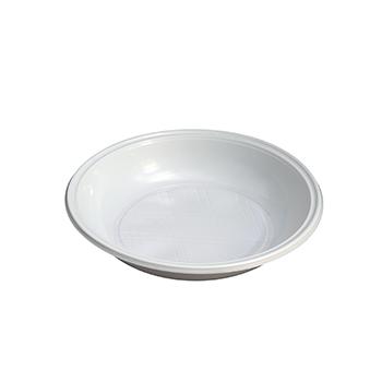 70061 50 pz piatti fondi diam. 210 mm 12 g PP bianco