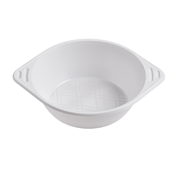 70282 50 pcs bowls diam. 165 mm 650 ml 8 g PS white