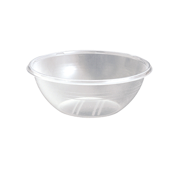 70465 50 pcs dessert bowls diam. 125 mm 300 ml 6,5 g RPET transparent