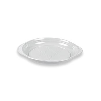 70496 50 pz piattini dessert slidedish diam. 165 mm 5 g PS bianco