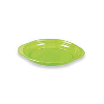 70497 50 pz piattini dessert slidedish diam. 165 mm 5 g PS verde