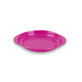 70499 50 pz piattini dessert slidedish diam. 165 mm 5 g PS lilla