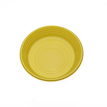 70500 25 pz piattini dessert diam. 165 mm 7 g PS giallo