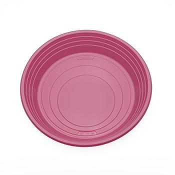 70505 25 pz piatti piani diam. 210 mm 11 g PS rosa