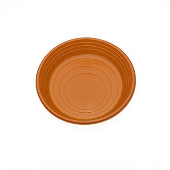 70522 25 pz piattini dessert diam. 165 mm 7 g PS arancione