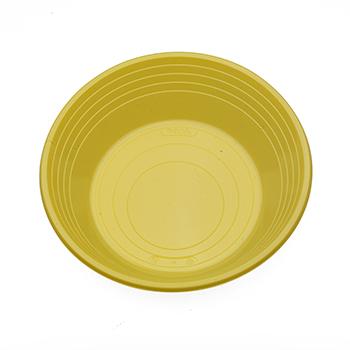 70529 25 pz piatti fondi diam. 210 mm 11 g PS giallo