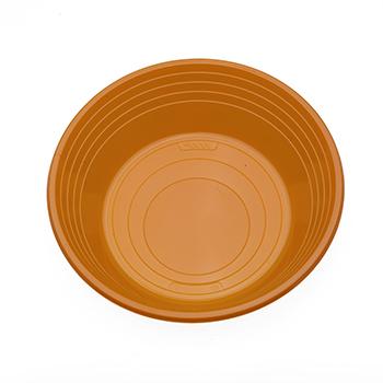 70530 25 pz piatti fondi diam. 210 mm 11 g PS arancione