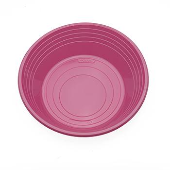 70537 25 pz piatti fondi diam. 210 mm 11 g PS rosa