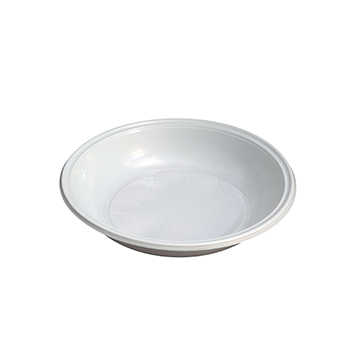 70623 30 pz piatti fondi diam. 210 mm 15 g PPC bianco