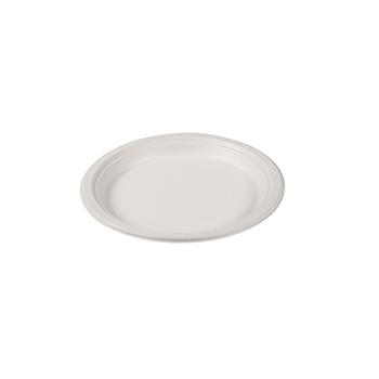 71124 50 pz piatti piani diam. 220 mm 14 g POLPA DI CELLULOSA bianco