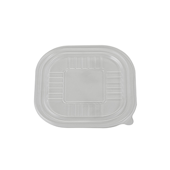100 pcs lids for plates 180x180x5,5 mm 9,5 g PP transparent