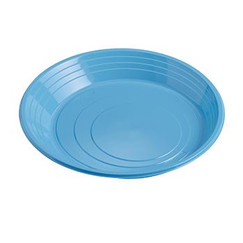 70852 25 pz piatti piani diam. 210 mm 11 g PS azzurro