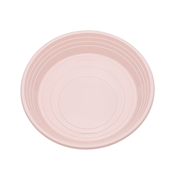 70926 25 pz piatti piani diam. 210 mm 11 g PS rosa
