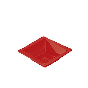 71097 20 pz coppette diam. 125 mm 300 ml 8 g PS rosso
