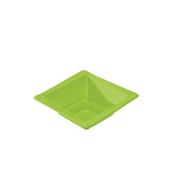 71098 20 pz coppette diam. 125 mm 300 ml 8 g PS verde
