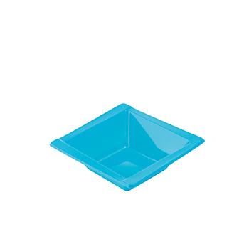 71099 20 pz coppette diam. 125 mm 300 ml 8 g PS azzurro