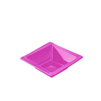 71100 20 pz coppette diam. 125 mm 300 ml 8 g PS rosa