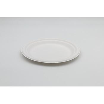 71233 15 pz piatti piani diam. 220 mm 14 g PULP bianco