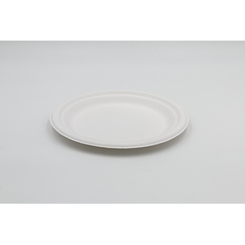 71233 15 pzs platos llanos diam. 220 mm 14 g PULP blanco