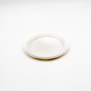 71234 15 pcs assiettes a' dessert diam. 17,5 cm 8 g POLPA DI CELLULOSA blanc