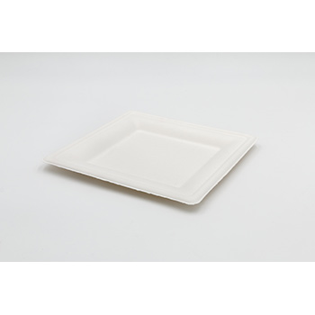 71204 50 pcs square flat plates 200x200x15 mm 16 g PULP white