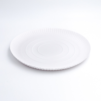 71255 50 pzs platos para pizza diam. 315 mm 32,571 g NC blanco